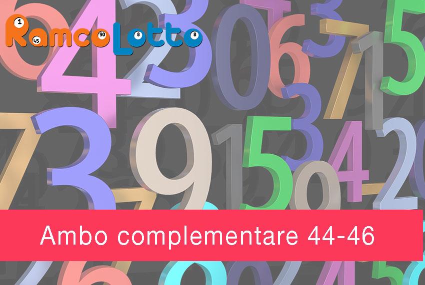 L'Ambo-Diametrale-44 -46